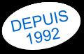 Depuis 1992